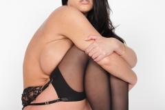 Angela-White-Huge-Boob-Black-Lacy-Lingerie-021
