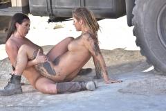 Angela White Huge Boob Lesbian Desert Nomad 007