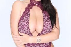 Angela White Huge Tits in Purple Body 009