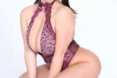 Angela White Huge Tits in Purple Body 017