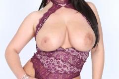 Angela White Huge Tits in Purple Body 028