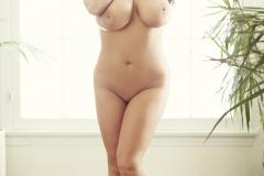 Angela_White_Grey_Bra_and_Panties_012