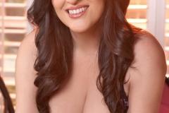 Antonella Kahllo Huge Boobs Pink Silky Corset 017