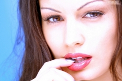 Aria Giovanni Big Boobs Naked and Up Close 001