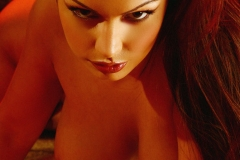 Aria Giovanni Big Tits Gold Mesh Dress and Bra 017