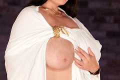Arianna Sinn is a Huge Boob Empress in White 003