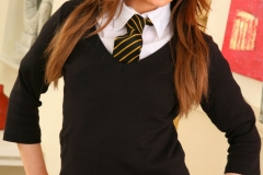 Ashlea-Massey-Big-Tits-Strips-out-of-her-college-uniform-011