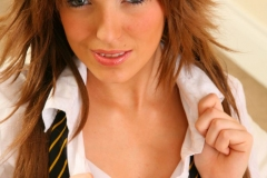 Ashlea-Massey-Big-Tits-Strips-out-of-her-college-uniform-013