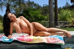 Ava Addams Huge Tits Pink Bikini 015