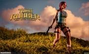 Bianca Beauchamp Big Boob Rubber Lara Croft 002