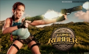 Bianca Beauchamp Big Boob Rubber Lara Croft 003