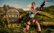 Bianca Beauchamp Big Boob Rubber Lara Croft 006