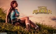 Bianca Beauchamp Big Boob Rubber Lara Croft 007