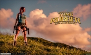 Bianca Beauchamp Big Boob Rubber Lara Croft 010