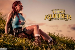 Bianca Beauchamp Big Boob Rubber Lara Croft 007