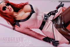 Bianca Beauchamp  Huge Tits Pink and Black Rubber Outfits 001