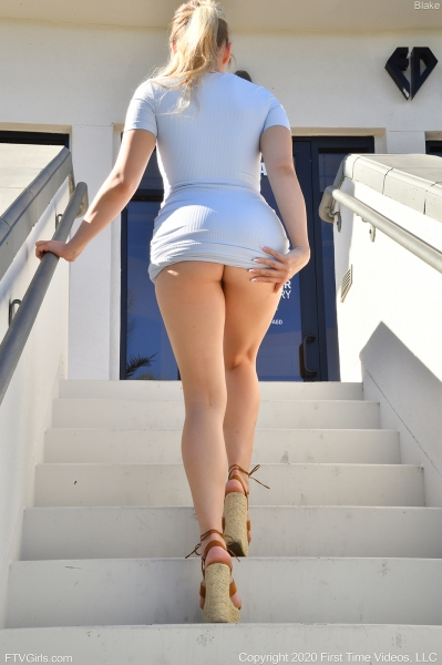 Blake-Big-Tit-Blonde-in-Tight-White-Dress-010