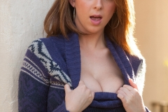 Brooke Wylde Big Tits Sweater Dress 04