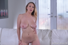 Brooke Wylde Huge Tits are Oiled and Naked 010