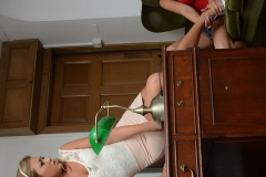 Candice Collyer and Natalia Forrest Get Naked in the Headmistress Office for St MacKenzies 002