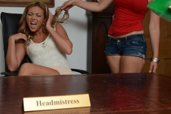 Candice Collyer and Natalia Forrest Get Naked in the Headmistress Office for St MacKenzies 003