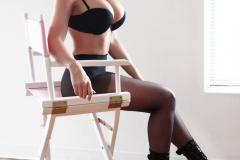 Carrie-Lachance-Black-Bra-Pantyhose-and-Steep-Heels-010