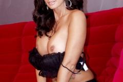 Catalina Cruz Big Tits Black Bra top with Panties 010