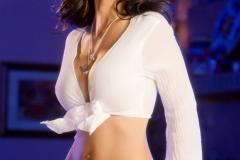 Catalina Cruz Huge Tit Naughty Girl in White 003