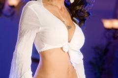 Catalina Cruz Huge Tit Naughty Girl in White 006