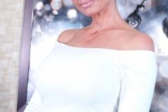 Catalina Cruz Huge Tits in Tight White Dress 003