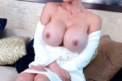 Catalina Cruz Huge Tits in Tight White Dress 007