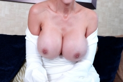 Catalina Cruz Huge Tits in Tight White Dress 008