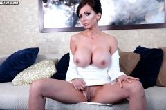 Catalina Cruz Huge Tits in Tight White Dress 009