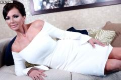 Catalina Cruz Huge Tits in Tight White Dress 012