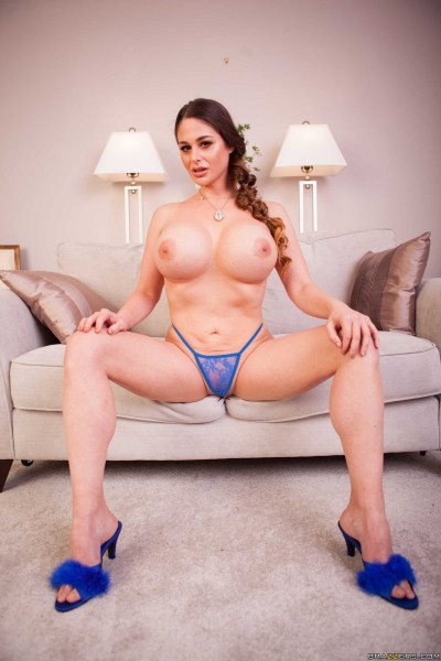 Cathy-Heaven-Huge-tits-in-Blue-Silky-Lacy-Lingerie-034