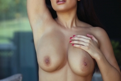 Charley S Big Boobs in a Pink Bra 016