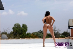 Charley S Big Boobs White Bra 016