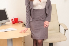 Charlie Rose Big Tit Secretary in Tight Skirt 01