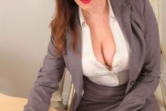 Charlie Rose Big Tit Secretary in Tight Skirt 04