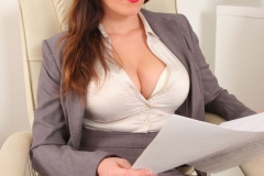 Charlie Rose Big Tit Secretary in Tight Skirt 05