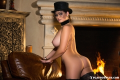 Chelsie Aryn Big Boobs Riding Outfit 011