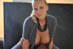 Chikita Big Tits Grey Top 10