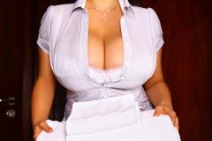 Chloe Vevrier Busty hotel maid 01