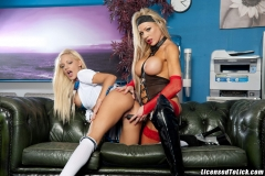 Cindy Behr and Lou Lou Big Tit Blonde Lesbian Dream 008