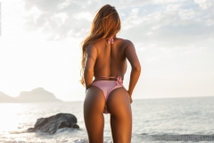 Cruzlyn Big Tits in Sexy Pink Bikini  for Photodromm 002