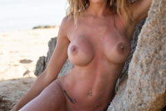 Cyrelle-Big-Tits-Look-Hot-on-the-Beach-for-Photodromm-008