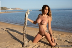 Cyrelle-Big-Tits-Look-Hot-on-the-Beach-for-Photodromm-009