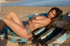 Cyrelle-Big-Tits-Look-Hot-on-the-Beach-for-Photodromm-012