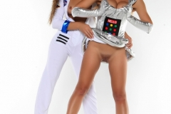 Dani Daniels Sexy Naked Big Boob Space Girl 009