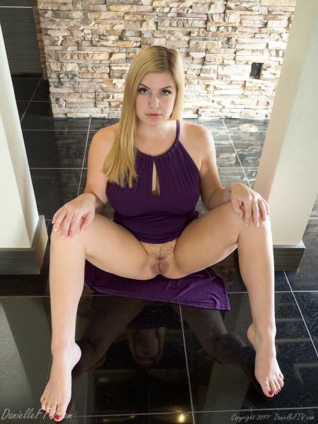 Danielle-FTV-Big-Tits-in-Slinky-Purple-Dress-008